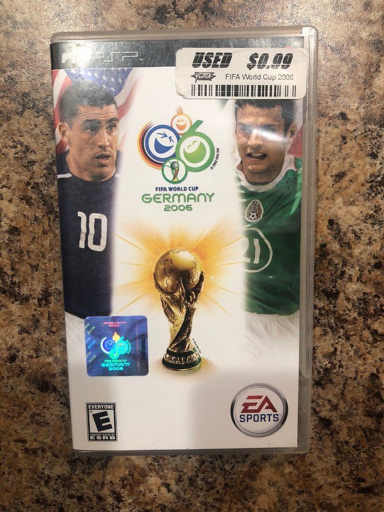 2006 Fifa World Cup Sony Psp 2006 Ebay Fifa World Cup World Cup Fifa