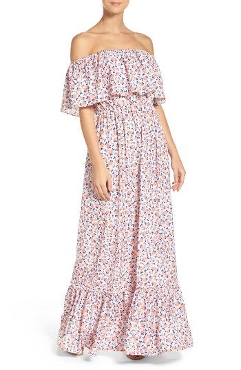 Free shipping and returns on A by Amanda Tiered Maxi Dress at Nordstrom.com. You're as sweet as can be—flaunt it.