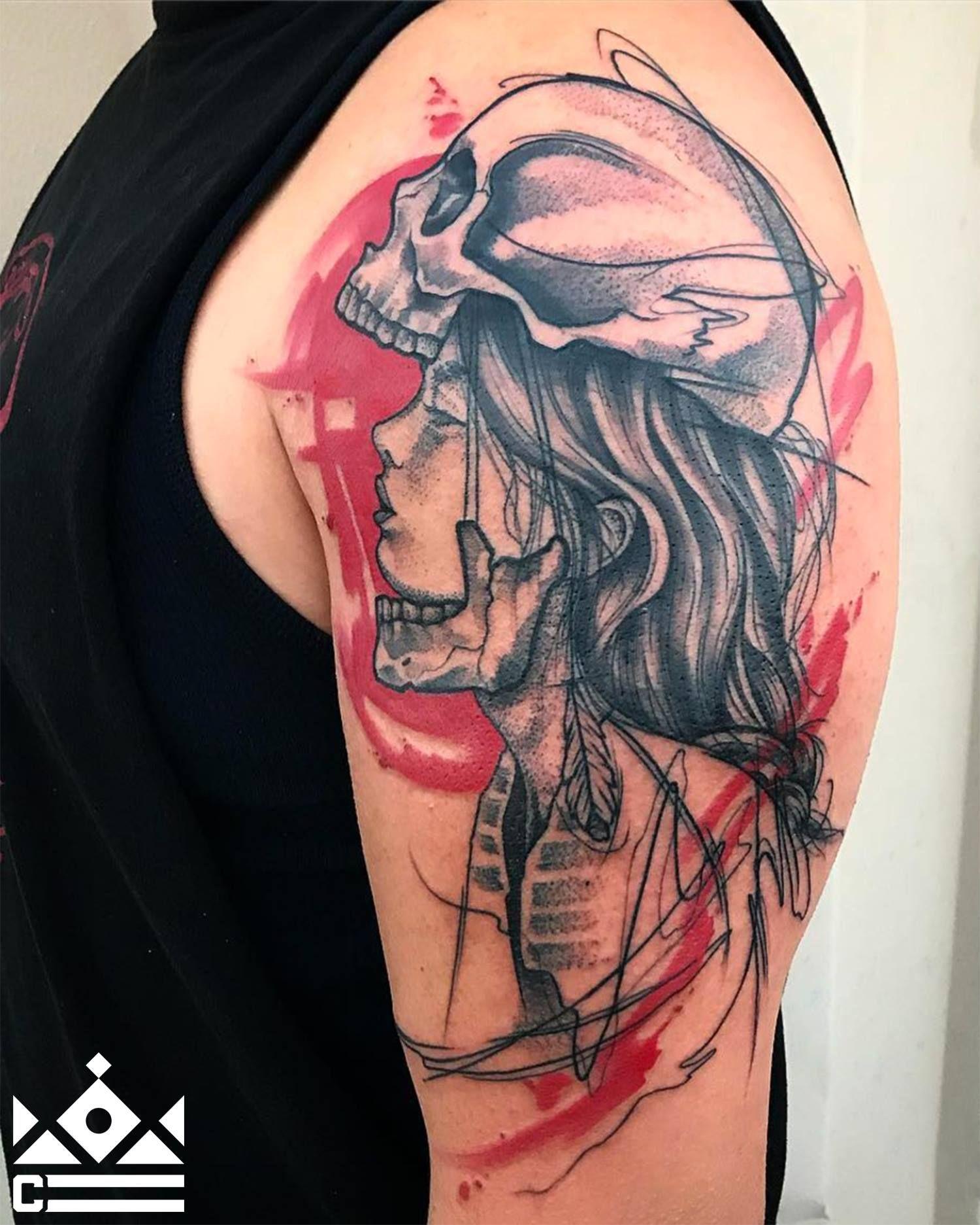Custom tattoo by skyler espinoza at certified tattoo