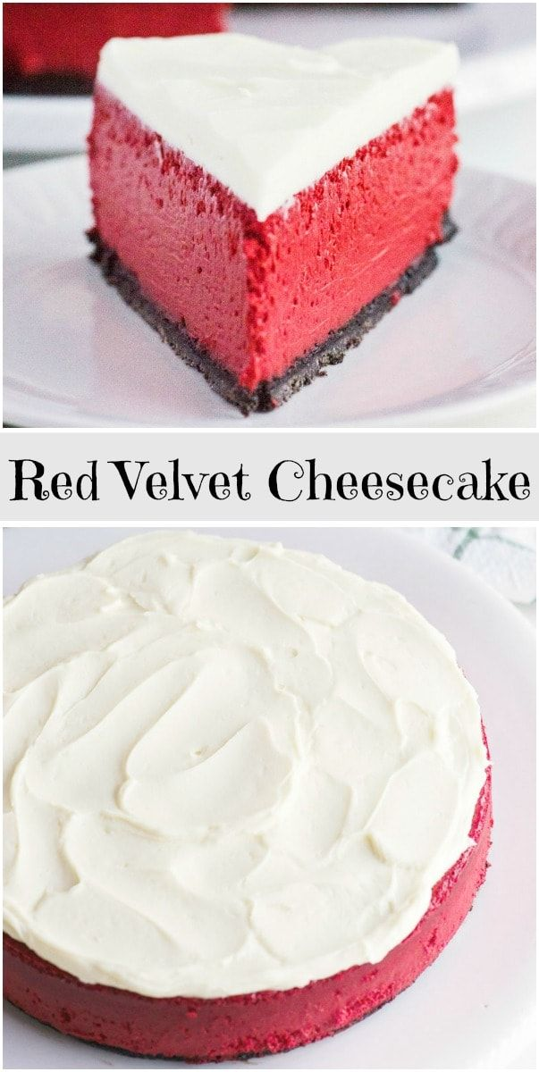 Red Velvet Cheesecake -   23 red velvet cheesecake recipes