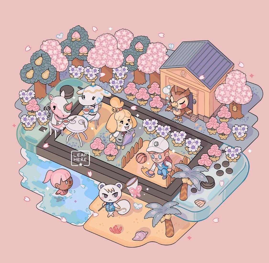 Leaphere On In 2020 Animal Crossing Memes Animal Crossing Animal Crossing Pocket Camp