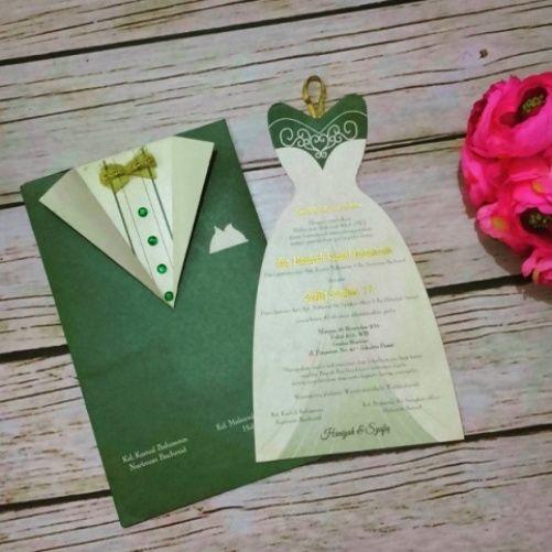Wedding Gown Surabaya: 62 Contoh Desain Undangan Pernikahan Unik