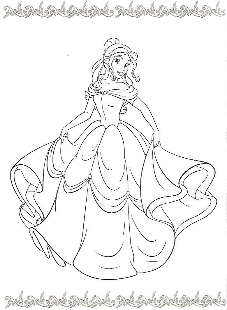 Pin de Jody Kyle en Coloring pages | Pinterest | Princesas