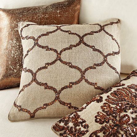 our glamour beaded pillow collection takes its inspiration from the ...