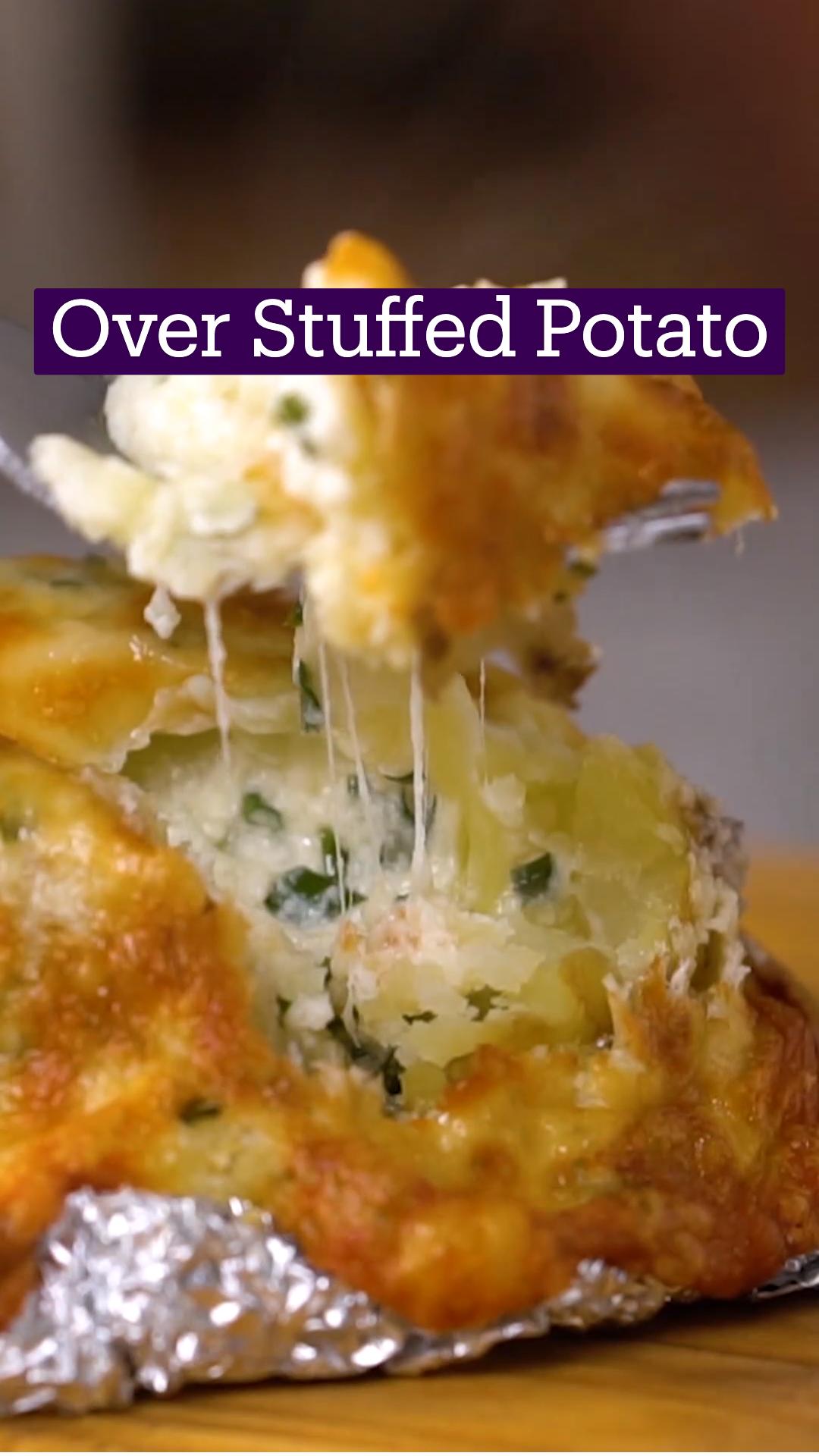 Over Stuffed Potato