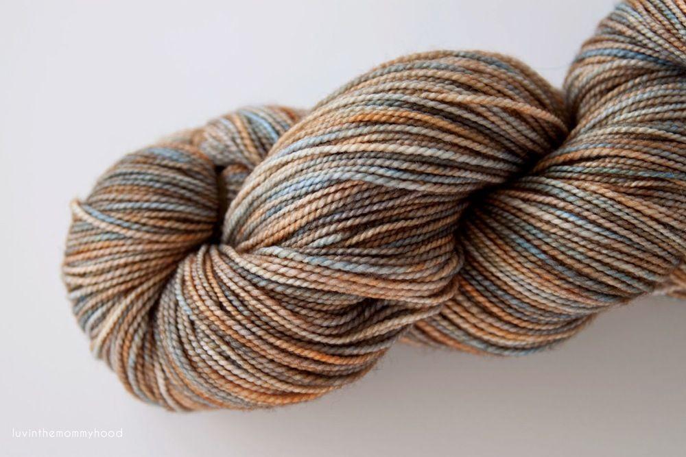Madelinetosh Tosh Sock in Earl Grey
