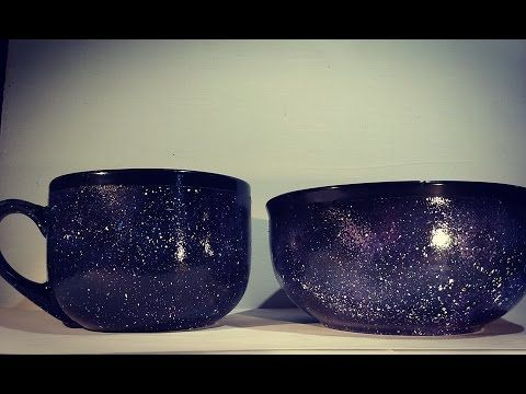 Galaxy Dinnerware-D.I.Y.- A1 Legged Life & Galaxy Dinnerware-D.I.Y.- A1 Legged Life | Boho/Hippie/Gypsy/Witchy ...