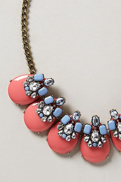 A little pink and blue bling by Baublebar x Anthropologie | Pretty Little Liars