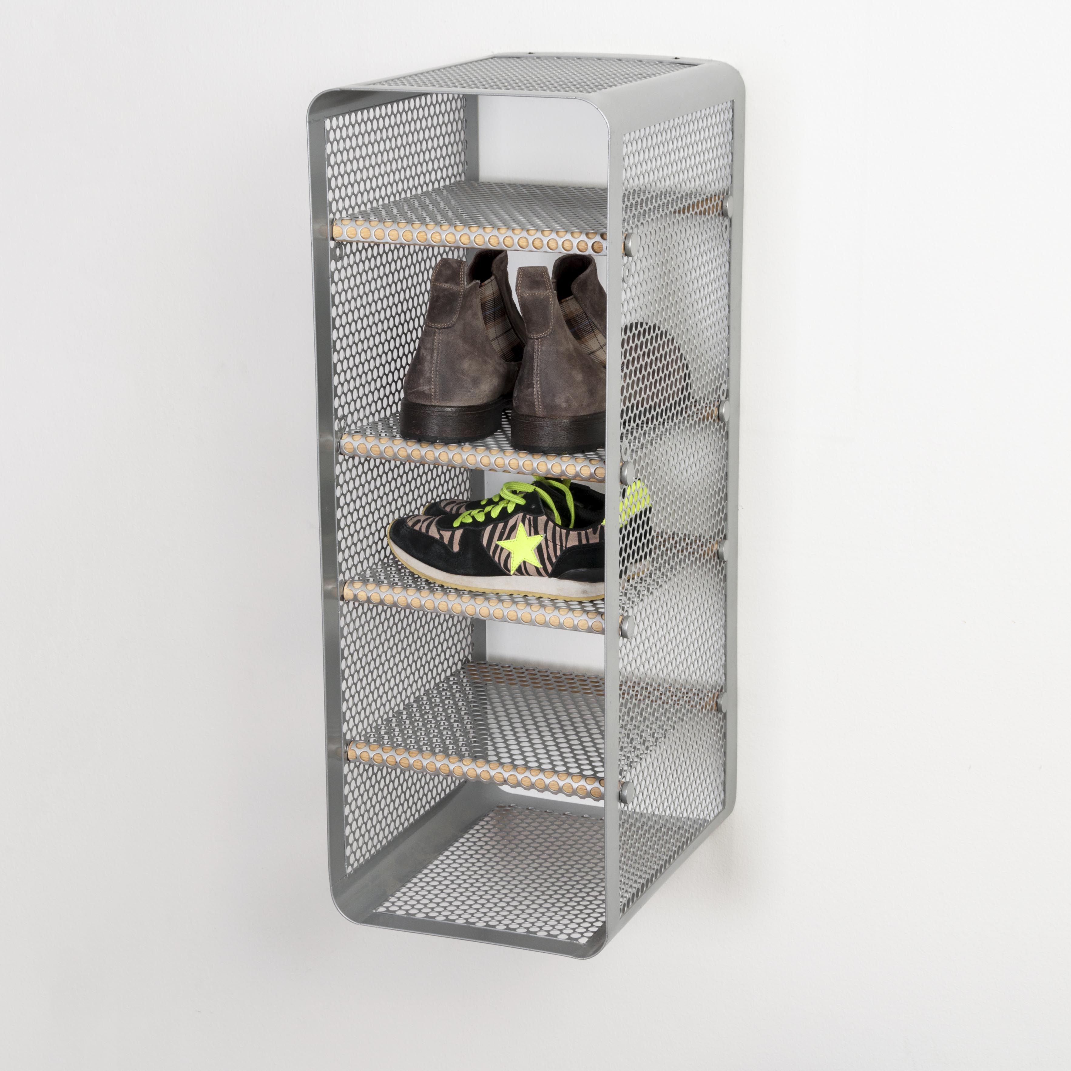 Tica Copenhagen | Shoe rack grey | Storage | Closet