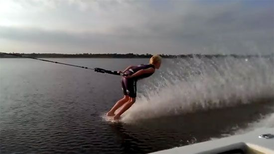 Epic Faceplants While Barefoot Water Skiing Water Skiing Barefoot Water Skiing Travel Trailer