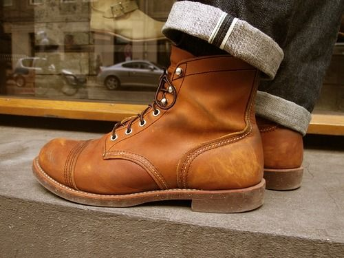 Red Wing Iron Ranger 8112   Red Wing Boots   Zapatos, Ropa und Botas ... c1e5441d00