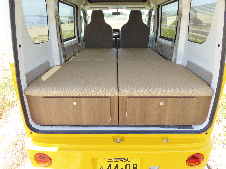 キャンピングカー comfy 床下収納 キャンピングカー 床下