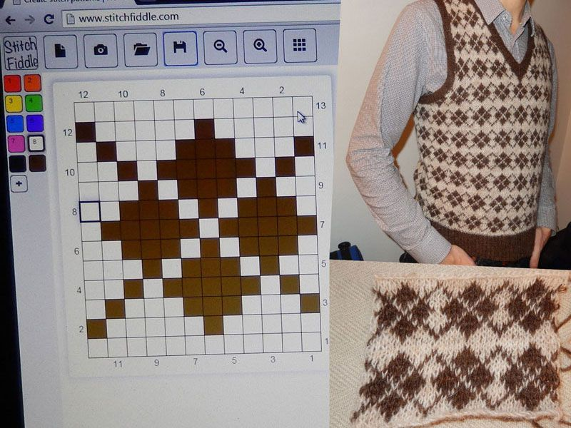 Create Stitch Charts Free Online Knitting And Embroidery Chart