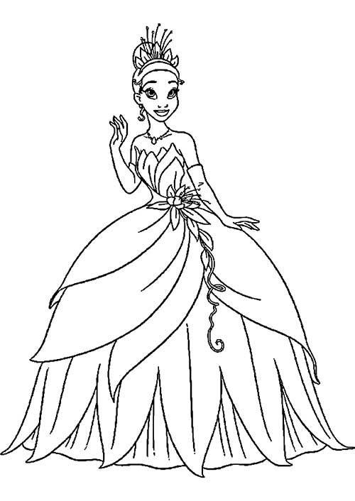 50 Desenhos de Princesas para Colorir/Pintar! | para pintar ...