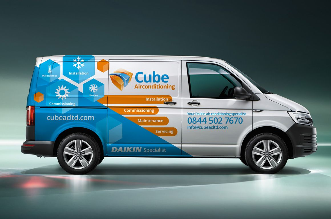 vehicle graphics | Fusing Creativity | Vehicle graphic design | Van ...