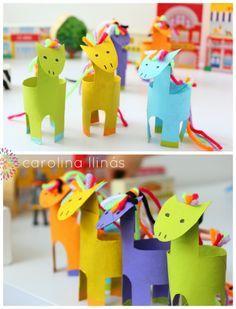 Manualidades Con Rollos De Papel Higienico Tp Rolls Pinterest - Manualidades-con-rollos-papel-higienico