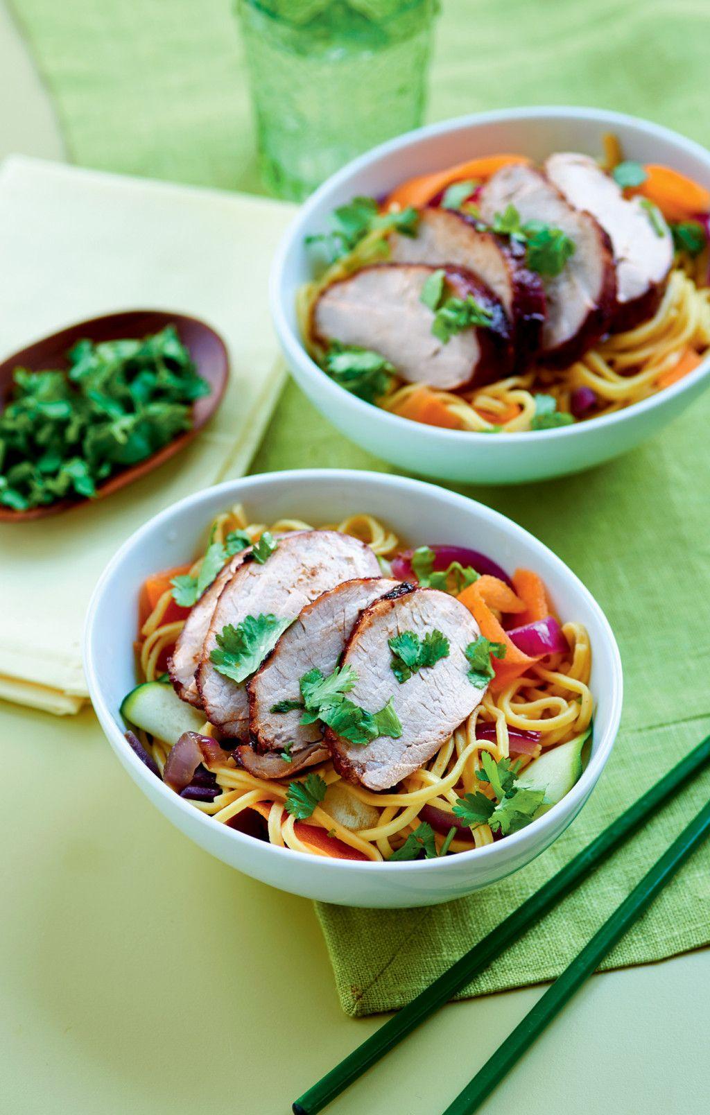 April 2015 Recipes >> Sticky Sesame Pork April 2015 Asian Pinterest Pork Pork