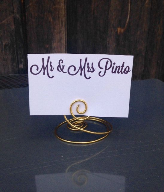 Small Table Number Holders 10