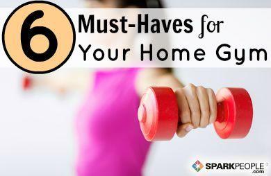 6 Essentials for Your Home Gym Slideshow -  Build your dream home #gym with these essentials!   via...