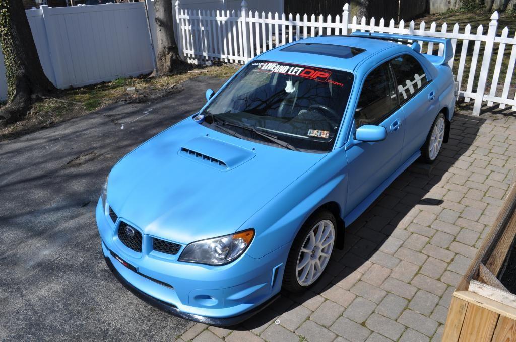 Subaru Impreza WRX STI Silhouette Sticker Decal GD Blobeye 2004 2005