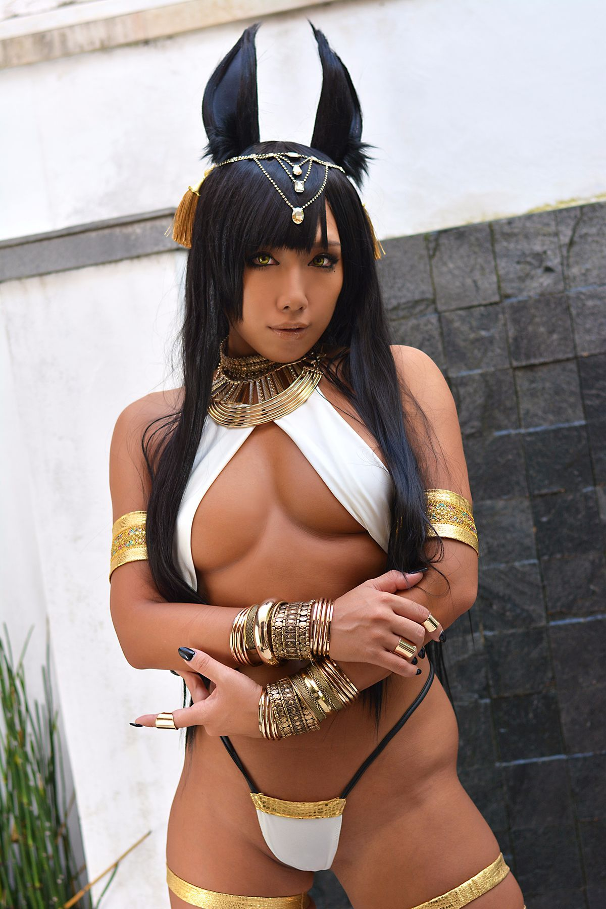 Nonsummerjack Nonmy God Anubis  Cosplay  Cute -6150