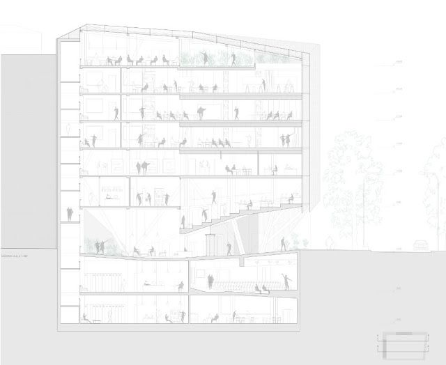 Segunda Piel: Edificio esquinARQ, Escuela de Arquitectura, Tecnología y Paisaje