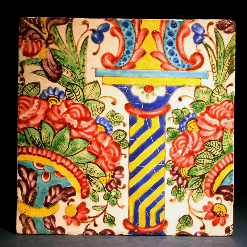Zand Tile, Persia 18th century