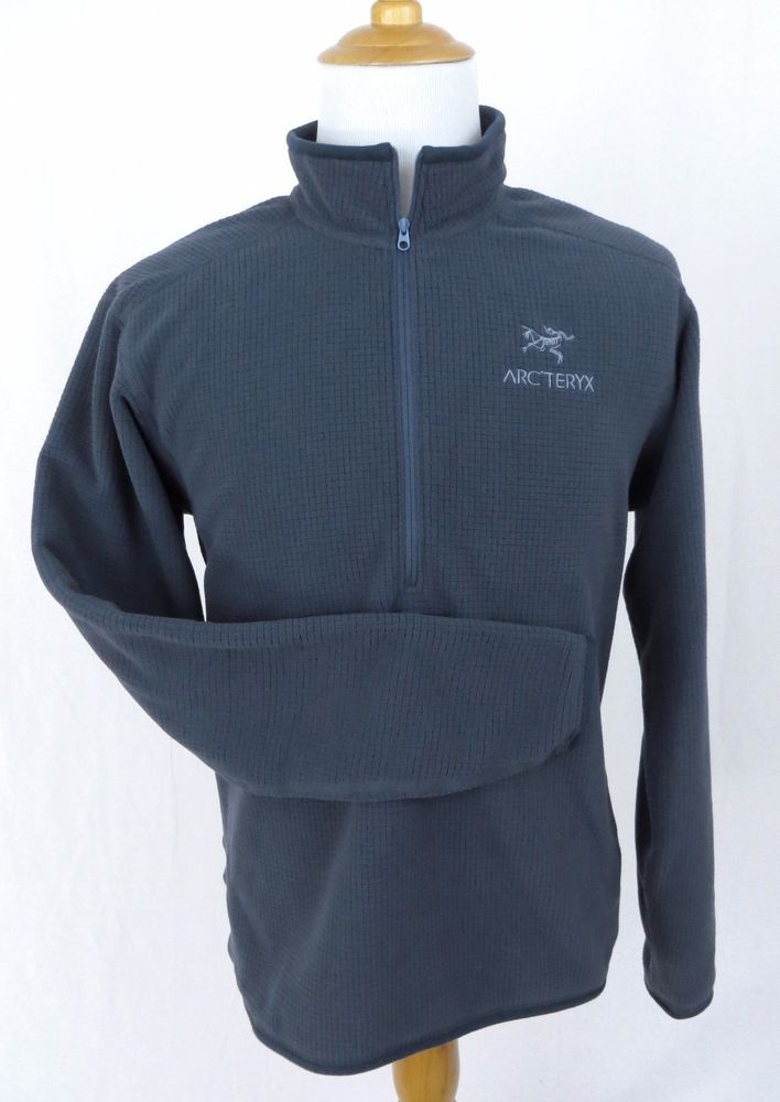 Arc'teryx Fleece Jacket Large Half Zip Polartec Winter