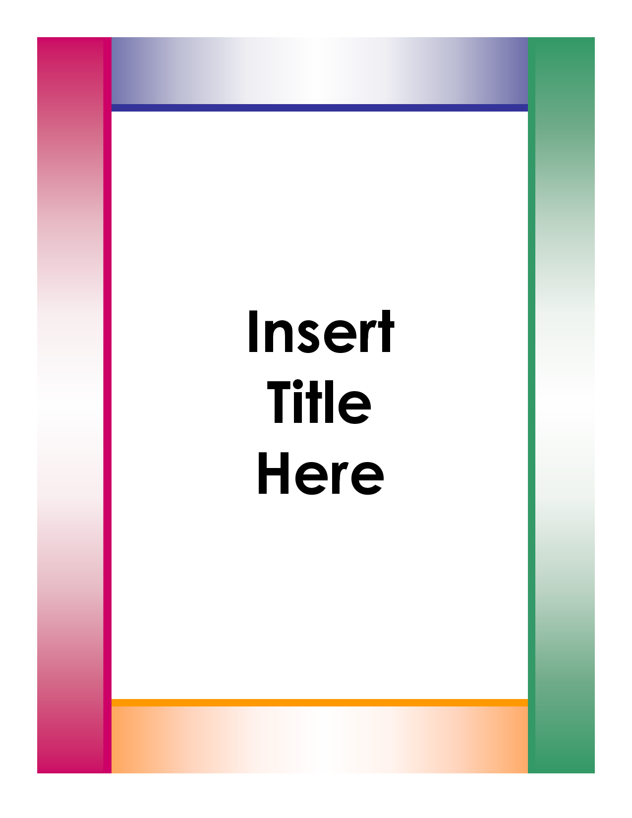free essay title page templates for microsoft word - Google Search ...