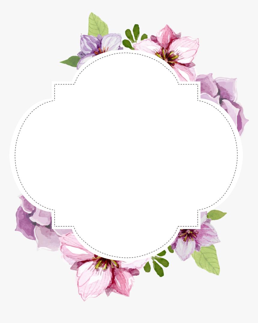 Frame Flower Png Transparent Png Is Free Transparent Png Image To Explore More Similar Hd Image On Pngitem Flower Frame Floral Border Design Printable Frames
