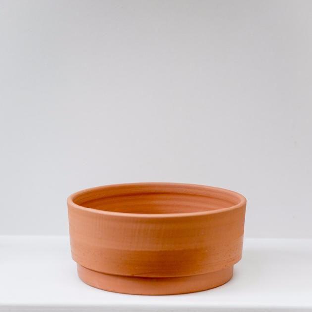 Anchor Ceramics Low Terracotta Planter Medium Terracotta Planter Ceramics Stone Planters