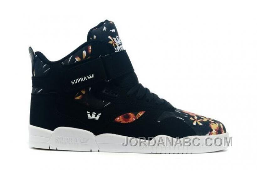 dd3bd5a6b445 Supra Bleeker High Top Shoes Black White White Men