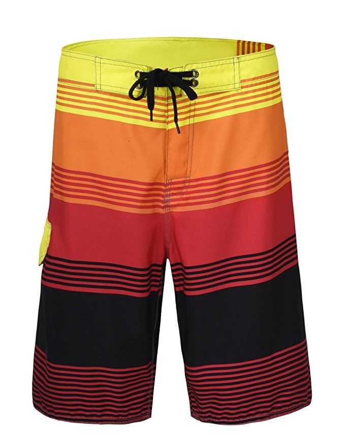 41b4abd3884e5 Going to beach with style is super easy when you own best swim board shorts.  Well
