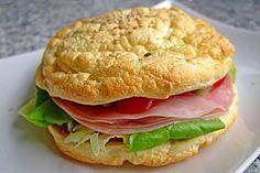 'Oopsies' dei rotoli di hamburger a basso contenuto di carboidrati di milti123 | capocuoco