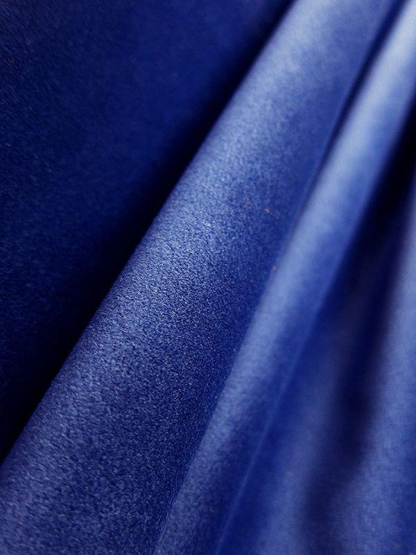 Morona Velvet Cobalt From The Design Connection 100 Poly Velvet