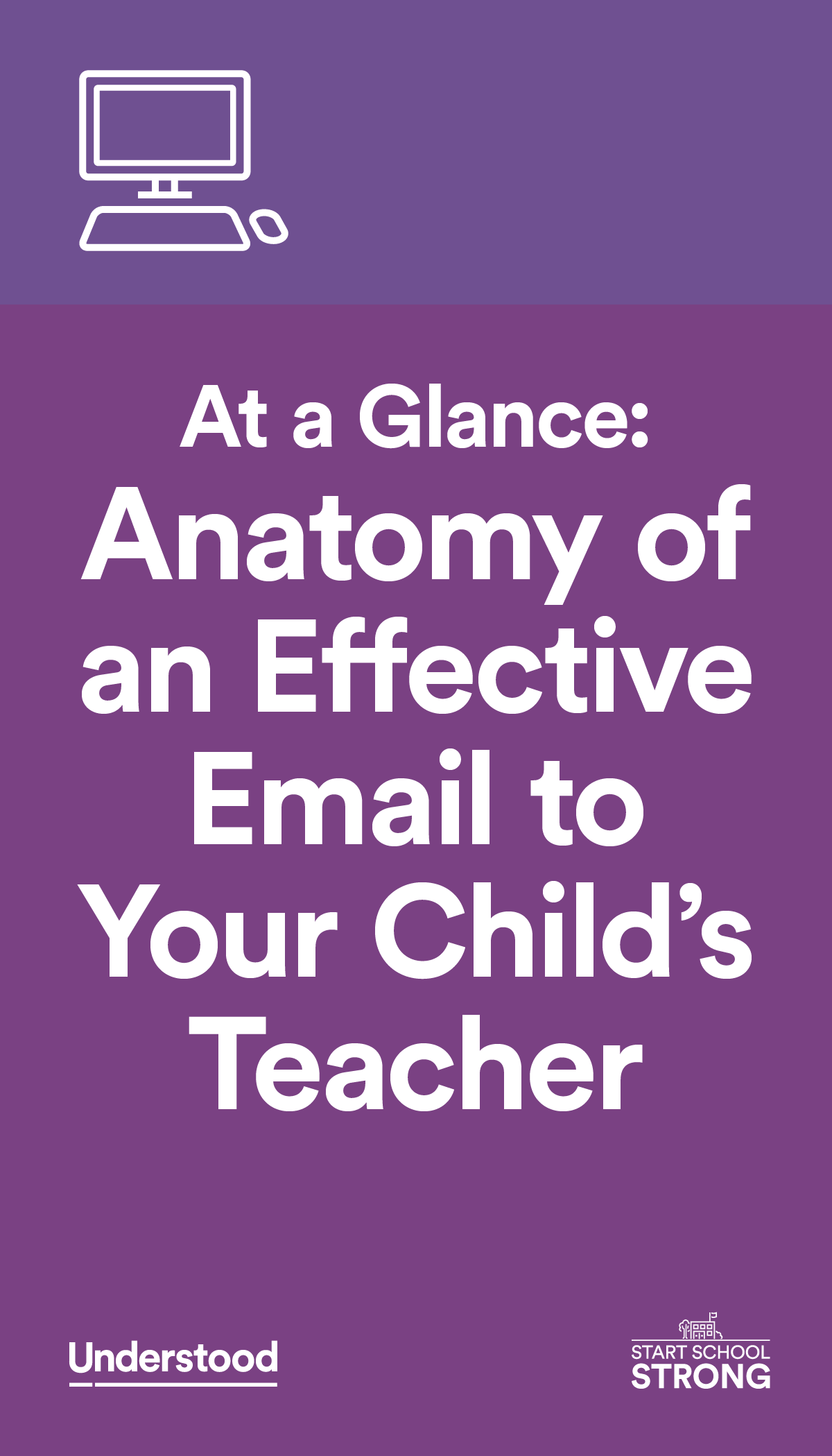 At A Glance Anatomy Of An Effective Email To Your Childs Teacher