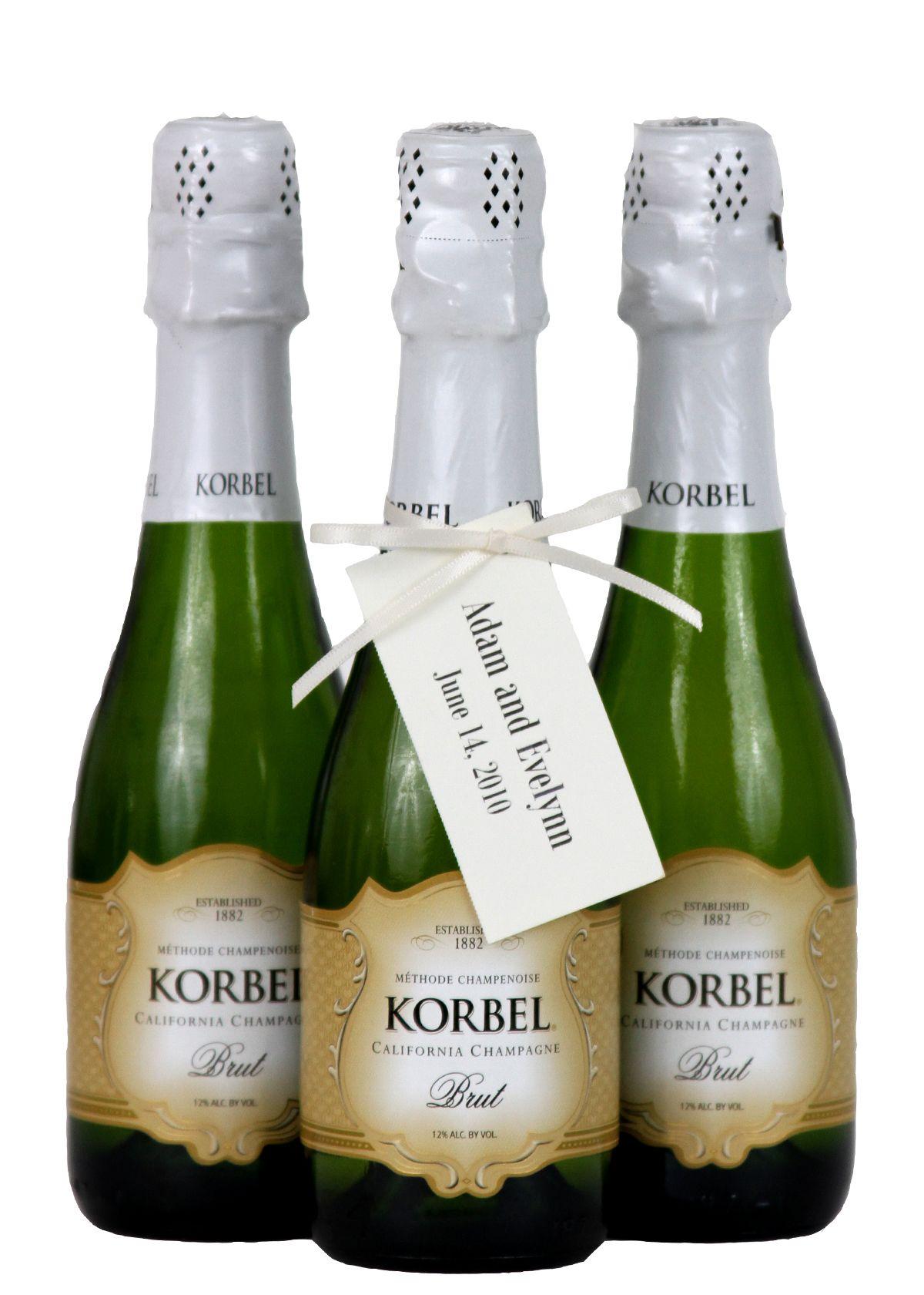 KORBEL personalized #favors! Order online: korbel.com | Sparkling ...