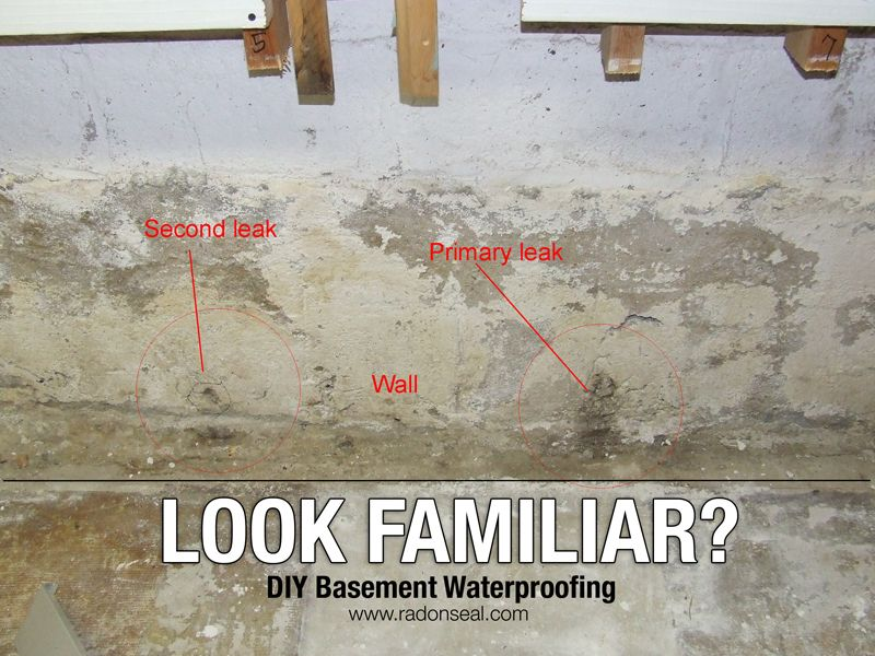 Problem Spalled Leaking Concrete Wall Diy Solution 1 Remove