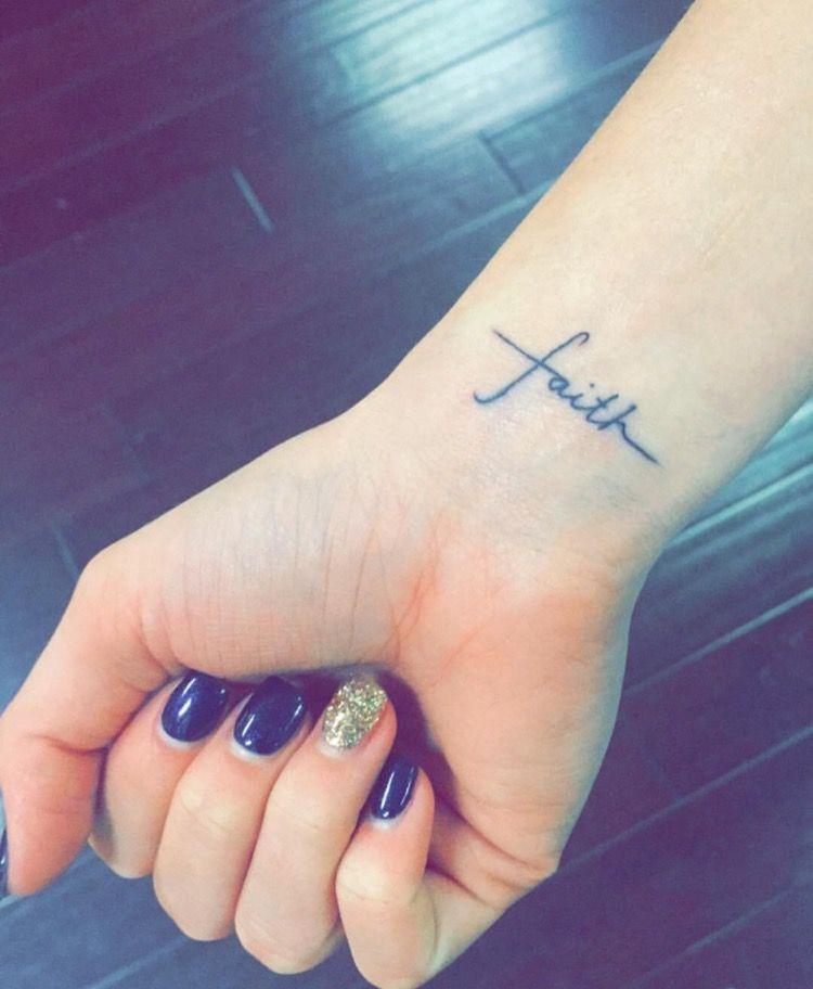 Faith tattoo✝️💖