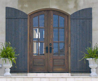Love this one too if you decide on doing an arch country for French country entry doors