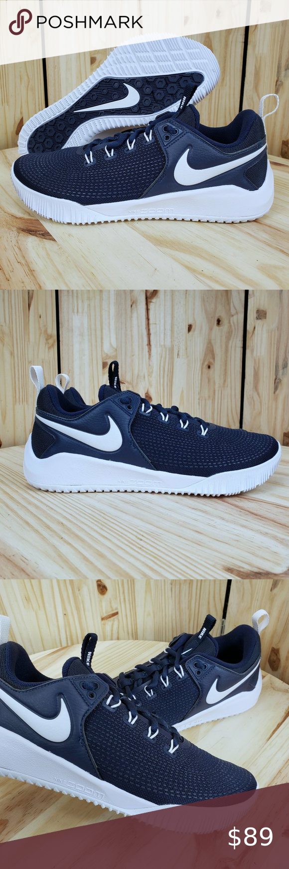 Nike Zoom Hyperace 2 Volleyball Shoes 1410 Nwt In 2020 Volleyball Shoes Nike Zoom Nike