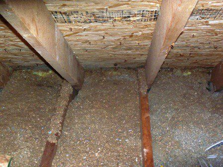 Installing Extra Insulation In Your Attic Is A Great Way To Save On Energy However When Doing So Make Sure Not To Home Inspection Installation Ventilation