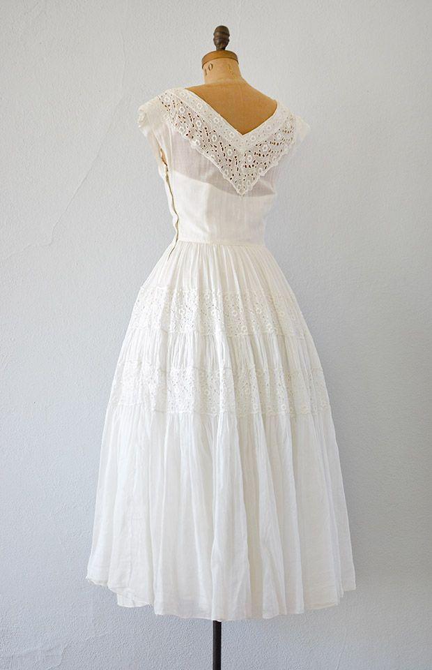 White Eyelet Wedding Dresses
