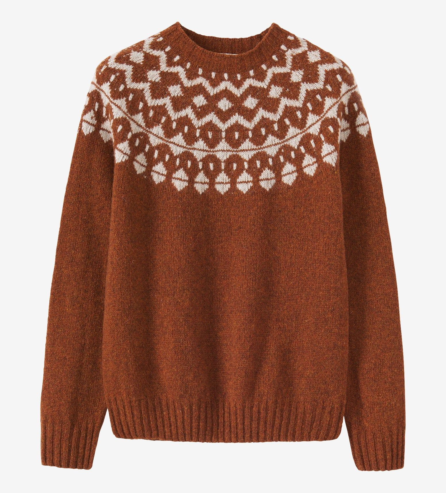 Seamless Fair Isle Yoke Sweater | Outfits | Pinterest | Early ...