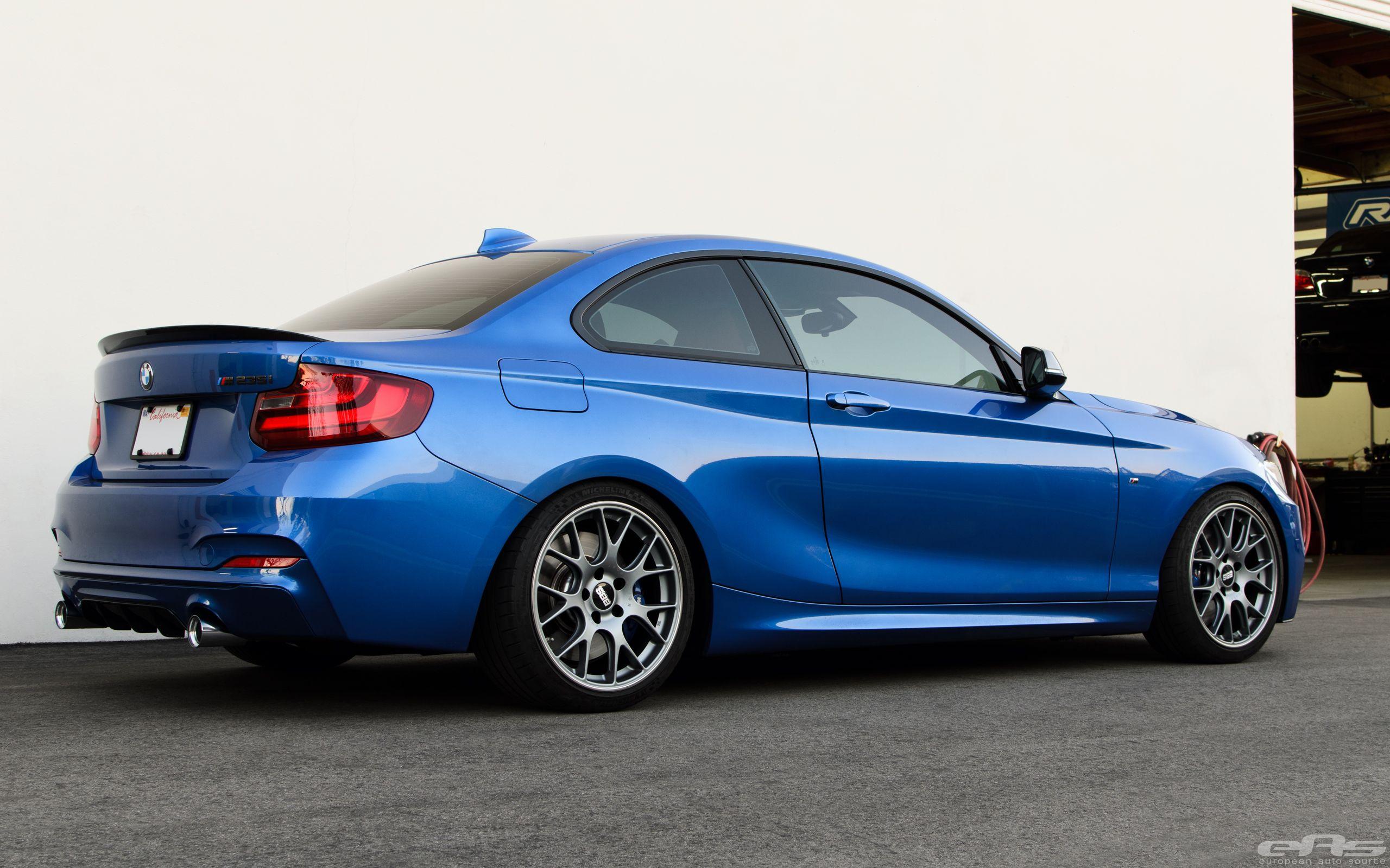 Gorgeous Estoril Blue Bmw M235i Gets Transformed Into A Beast Estoril Blue Bmw Performance Parts