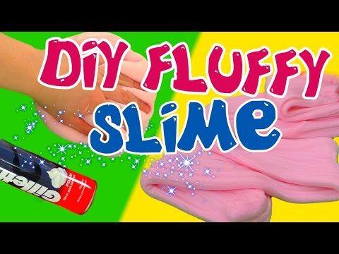 Comment Faire Du Slime Avec De La Mousse à Raser Diy Fluffy Slime