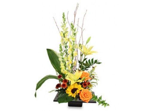 Large Floral Arrangement for Thanksgiving   EXPRESSIVE BLOOMS Arrangement