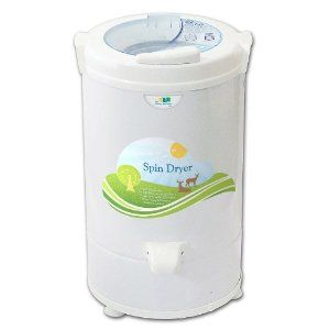 Centrifugal Clothes Portable Spin Dryer. Great if your apartment ...