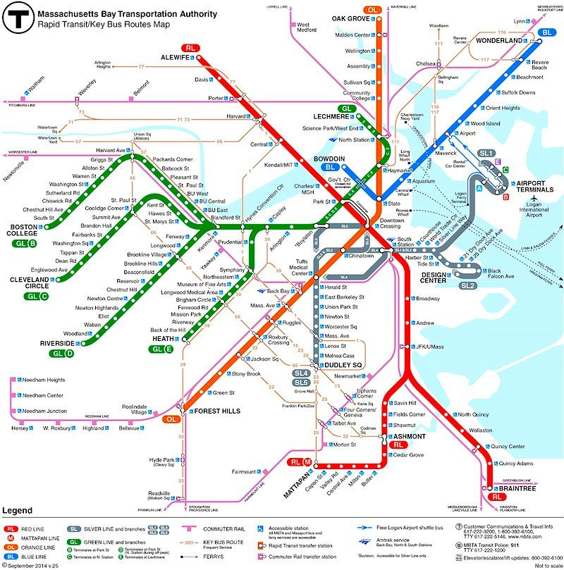 Subway Map Baseball.Boston Subway Map Do You Want To Be A Cop Or Do You Want To