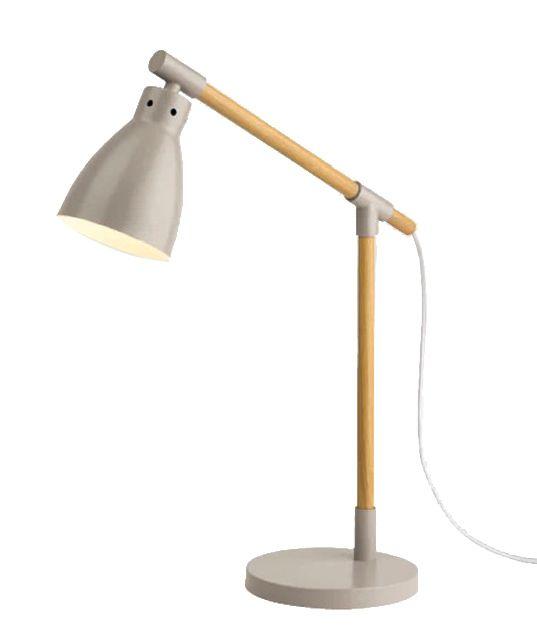 Lampe Musca Taupe Métal Castorama Lampe De Bureau